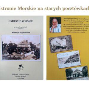 Zdjęcia starcy pocztówek Ustronia Morskiego