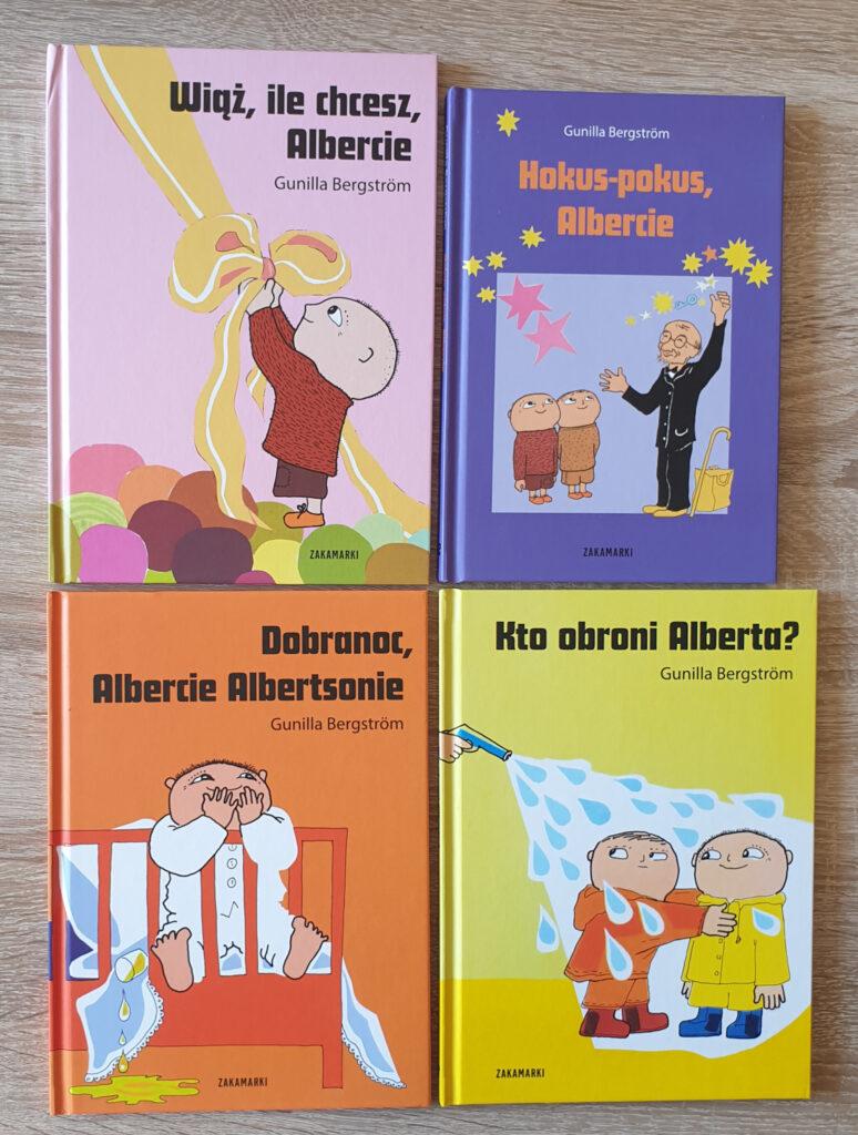 zdjęcia przedstawiają 8 książek
