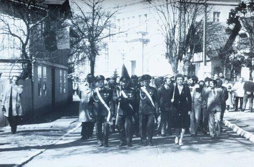 Zdjęcia z pochodu pierwszomajowego z 1986 r.